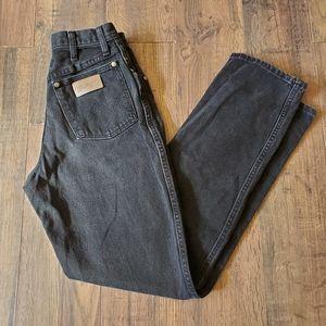 Vintage Wrangler High Rise Straight Leg Jeans